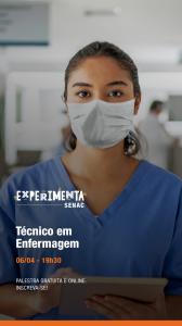 Curso Técnico em Enfermagem - Experimenta SENAC