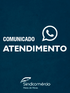 COMUNICADO - ATENDIMENTO SINDCOMÉRCIO