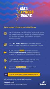 MBA Express no Senac Patos de Minas